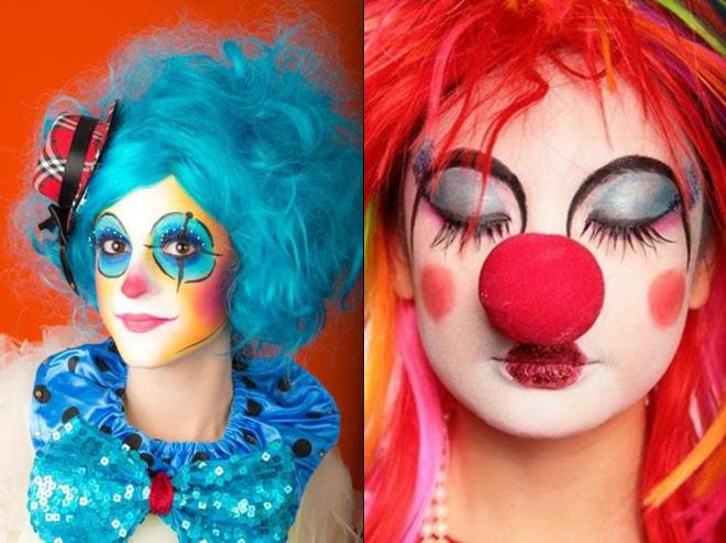 Maquiagem fantasia palhaço