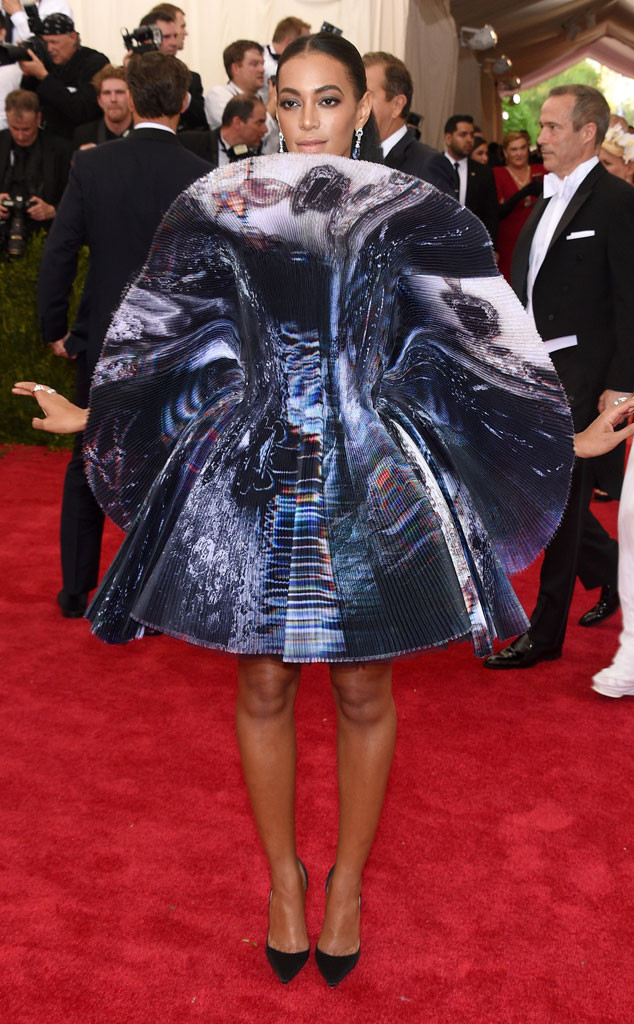 Solange knowles look baile met 2015