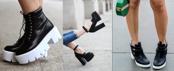 Sapatos solas tratoradas