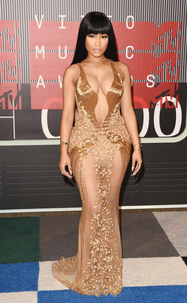 look Nicki Minaj vma 2015