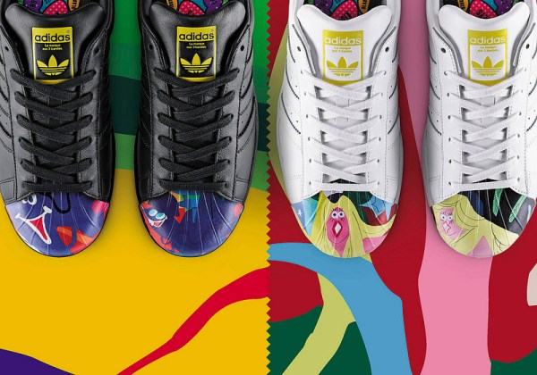 Parceria Adidas e Pharrell Williams tênis Supershell