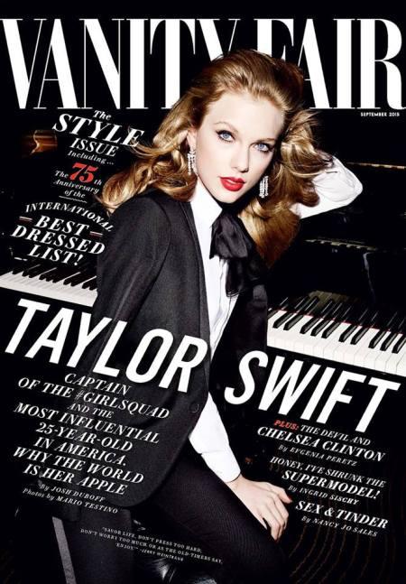 Taylor Swift capa Vanity Fair setembro