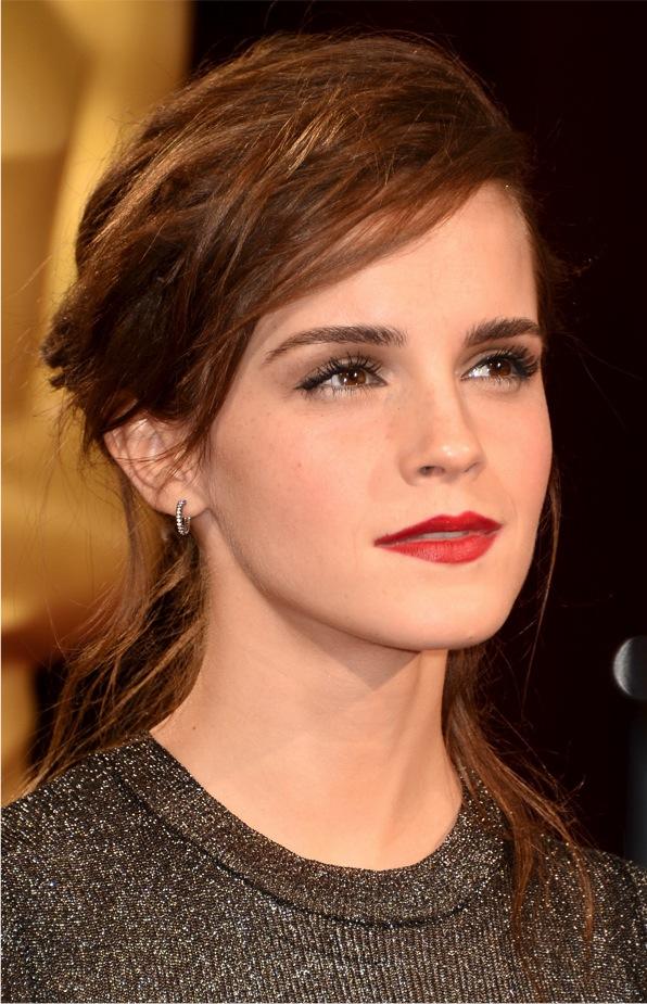 Maquiagem das famosas tapete vermelho red carpet Emma Watson