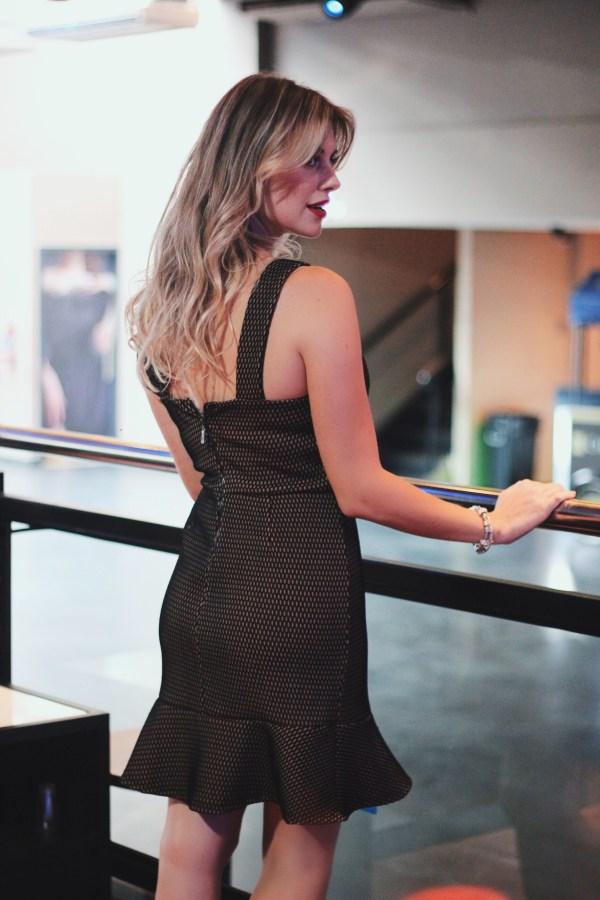 Mel Campo - Look Mamô vestido chique