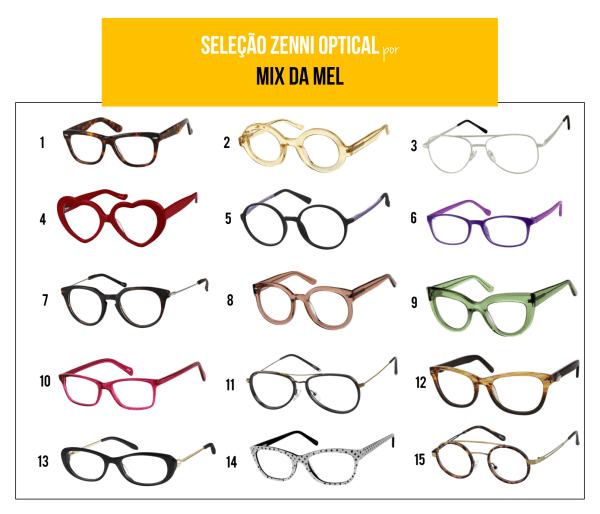 Óculos de grau da china zenni optical