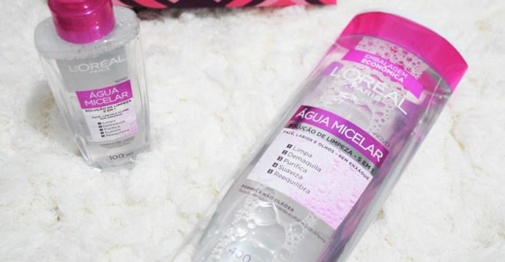 resenha água micelar lóréal