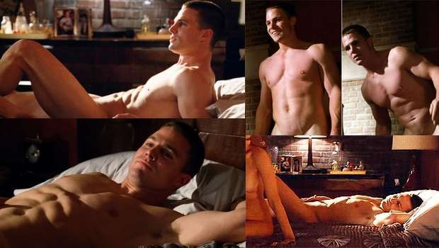 Stephen Amell Hung