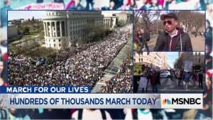 March For Our Lives, MSNBC-2