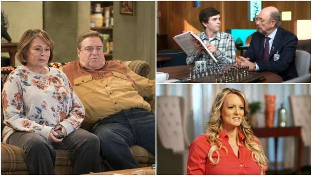Roseanne, 60 Minutes, The Good Doctor, Stormy Daniels, CBS, ABC