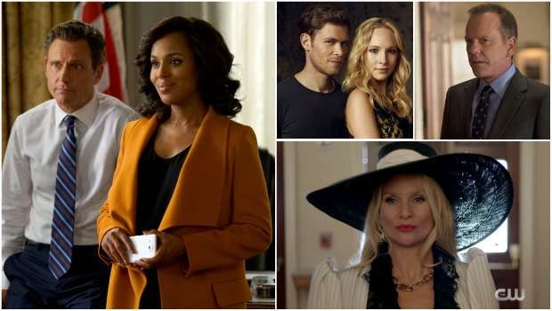 Spoiler Alert, Scandal, Flash, Designated Survivor, Dynasty