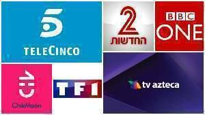 TV a Cabo, Telecine, Channel 2, BBC One, Chilevisión, TF1, TV Azteca