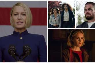 Spoiler, Spoiler Alert, House of Cards, Charmed, Arrow, Chilling Adventures of Sabrina