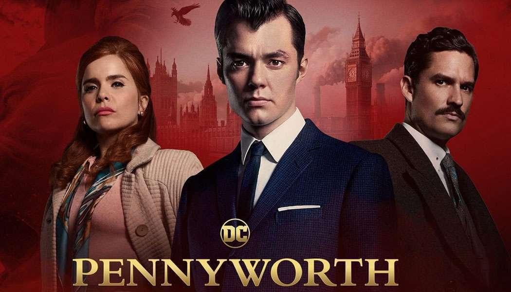 Imagem da série Pennyworth, do Epix