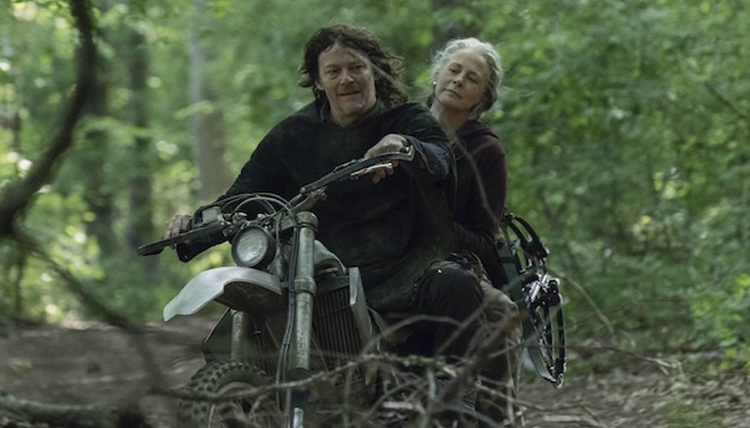 Carol e Daryl em The Walking Dead