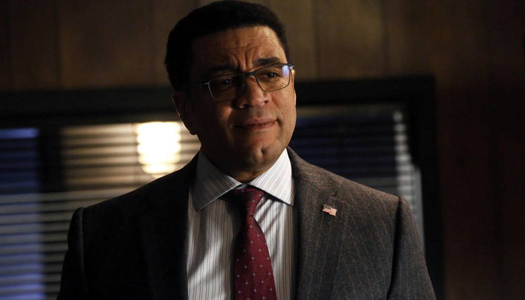 Imagem de Cooper na série The Blacklist