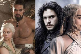 Emilia Clarke Game of Thrones Kit Harington e Jason Momoa