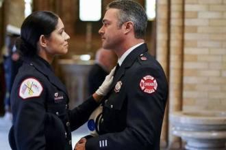 Stella e Severide em Chicago Fire