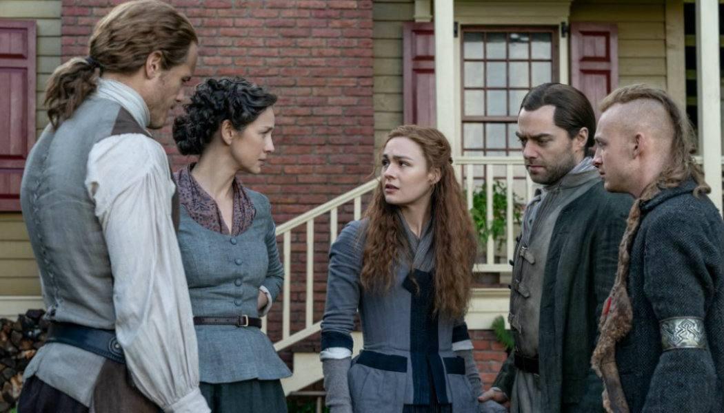 Cena do episódio 5x11 de Outlander