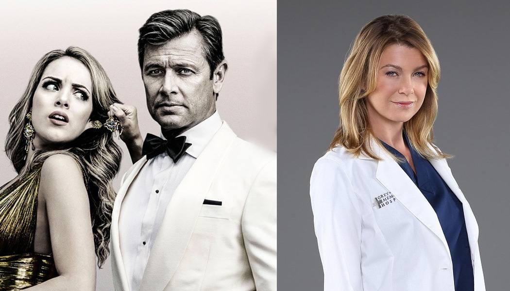 Dinastia, Grey's Anatomy séries mais vistas no mundo