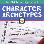 Character Archetypes Interactive Notebook