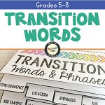 Transition Words and Phrases Interactive Notebook