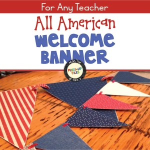 All American Welcome Banner
