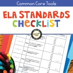 ELA Standards Checklist for Grades 5-12