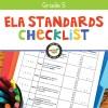 ELA Standards Checklist for Grade 5