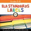 ELA Standards Folder Labels for Grades 9-10