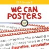 ELA Standards We Can Posters for Grade 8