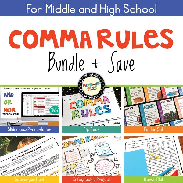 Comma Rules Bundle & Save