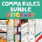 Comma Rules Bundle Giveaway