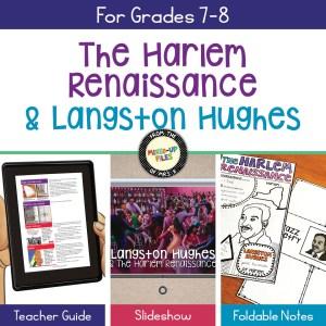 The Harlem Renaissance and Langston Hughes