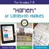 Langston Hughes Harlem [Dream Deferred]