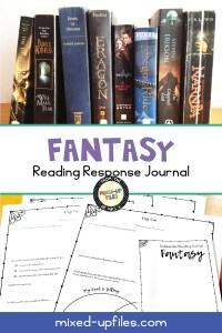 Fantasy Reading Response Journal