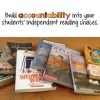 Build accountability into independent reading time