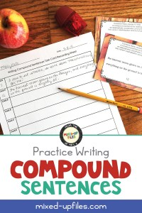 Practice writing compound sentences