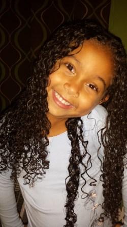 Washed curly hair mixedfamilylife.com