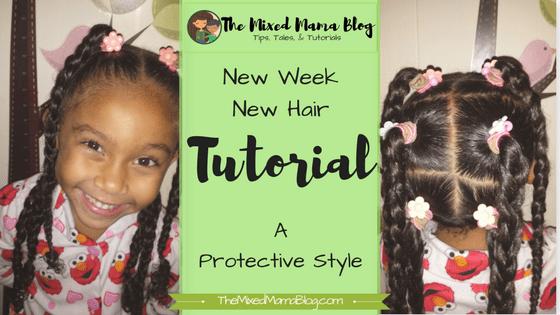 NewWeekNewHair by The Mixed Mama Blog