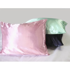 Multiracial Kids Hair Care - Q & A - by Mixed Family Life for Multiracial Media - Sweet Dreams Luxury Satin Pillowcase with hidden zipper