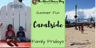 Canalside in the Summer_FamilyFridays