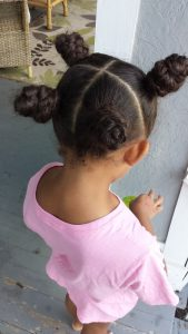 One Hairstyle Multiple Looks - 4 Hair Sections - by Mixed Family Life _ Braided Buns