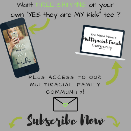 Subscribe Now to the Mixed Family Life Mailing List