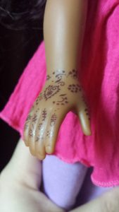 Heart for Hearts Girls - Nahji Doll by Mixed Family Life _ Henna Close Up