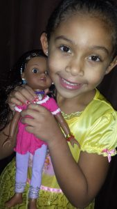 Heart for Hearts Girls - Nahji Doll by Mixed Family Life _ Daughter Loves Her