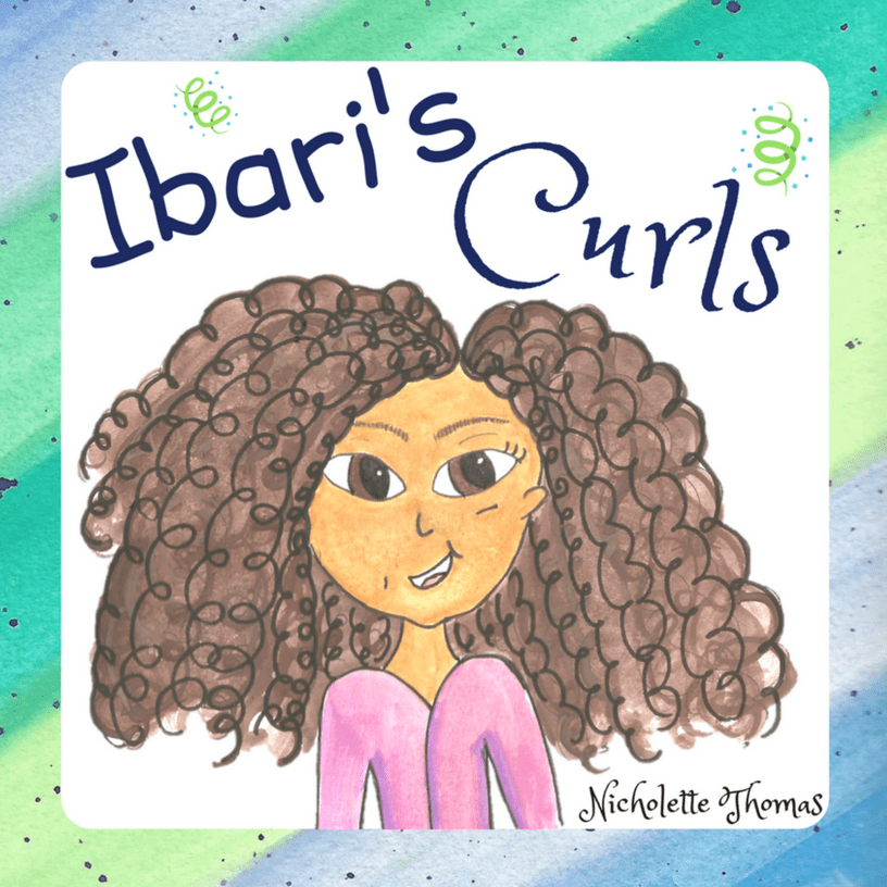 Ibari's Curls by Nicholette Thomas _ Front Cover