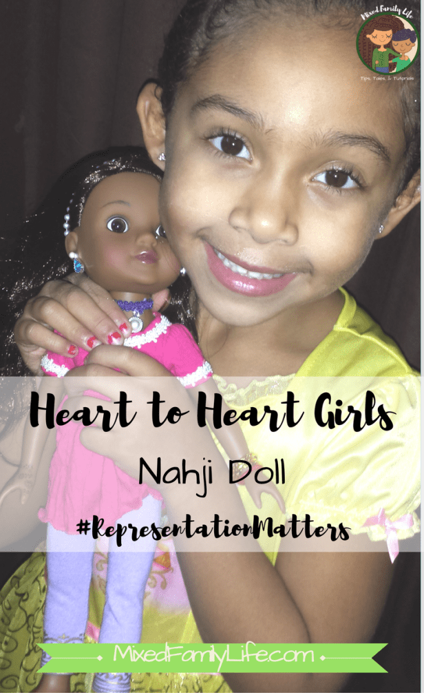 Heart for Hearts Girls - Nahji Doll by Mixed Family Life _ PIN
