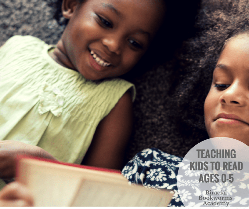 Teach Kids to Read - Biracial Bookworms Academy Recommendation by Mixed Family Life