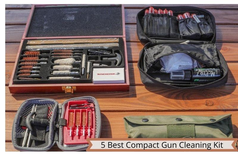 Compact Gun Cleaning Kit