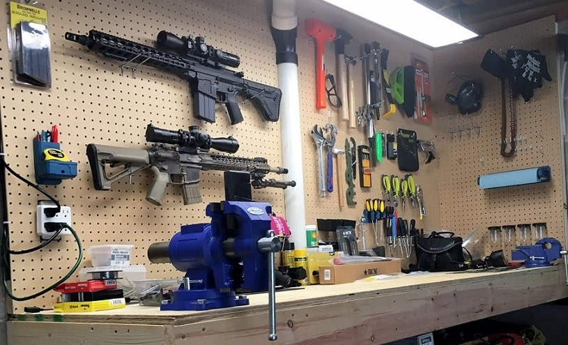 Best Gun Cleaning Table